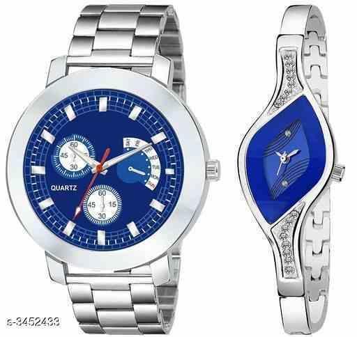 Attractive Stylish Couple Watch