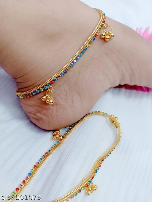new latest and indian traditional ethnic fancy payal for girls and women's