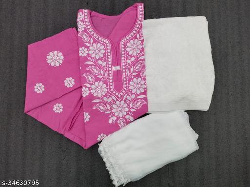 Trendy Cotton Women Kurta Sets