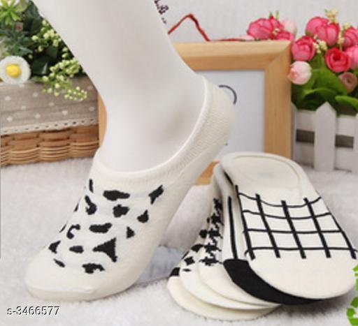 Fancy Cotton Women's Sock