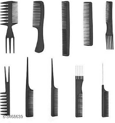 Hair Accessories Shopfleet Set of 10 Professional Hair Cutting & Styling Comb Kit  Product Name: Shopfleet Set of 10 Professional Hair Cutting & Styling Comb Kit Product Type: Comb Brand Name: Shopfleet Material: Plastic  Size: Free Size Package Contains: It Has 10 Pieces of Comb Sizes Available: Free Size *Proof of Safe Delivery! Click to know on Safety Standards of Delivery Partners- https://ltl.sh/y_nZrAV3  Catalog Rating: ★4.2 (681)  Catalog Name: Free Gift Shopfleet Hair Comb Vol 1 CatalogID_482710 C50-SC1815 Code: 702-3468639-994