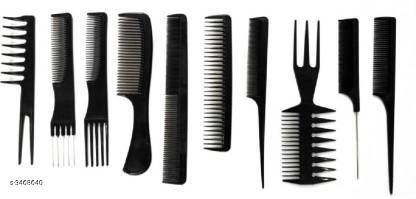 Hair Accessories Shopfleet Set of 10 Professional Hair Cutting & Styling  Product Name: Shopfleet Set of 10 Professional Hair Cutting & Styling  Product Type: Comb Brand Name: Shopfleet Material: Plastic  Size: Free Size Package Contains: It Has 10 Pieces of Comb Sizes Available: Free Size *Proof of Safe Delivery! Click to know on Safety Standards of Delivery Partners- https://ltl.sh/y_nZrAV3  Catalog Rating: ★4.2 (681)  Catalog Name: Free Gift Shopfleet Hair Comb Vol 1 CatalogID_482710 C50-SC1815 Code: 702-3468640-994