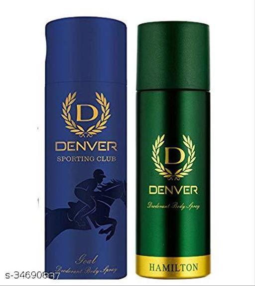 Denver Hamilton & Sporting Club Goal Deodorant For Men (165ml) (Pack of 2)