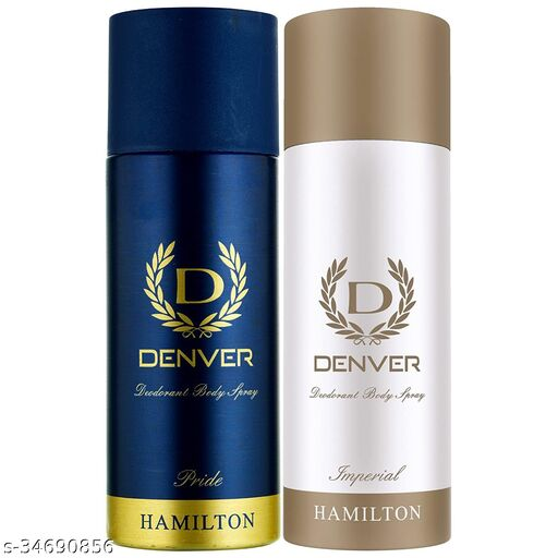Denver Deo Combo, Pride and Imperial, 165ml (Pack of 2)