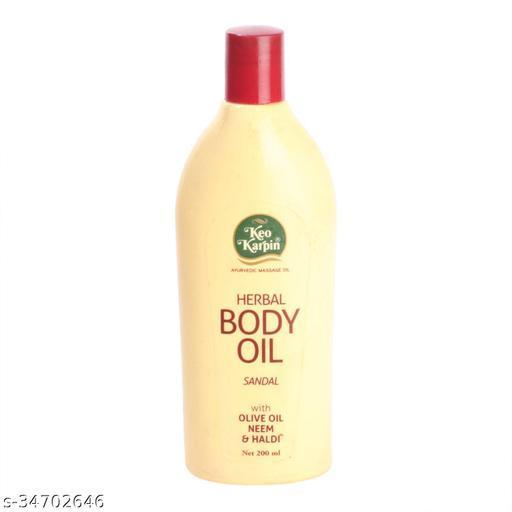 Keo Karpin Body Oil - Sandal, 200ml Pack