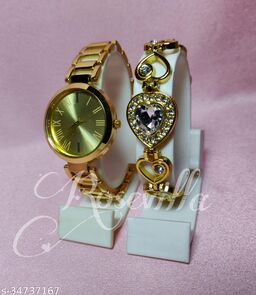 new combo watches with braslet for women