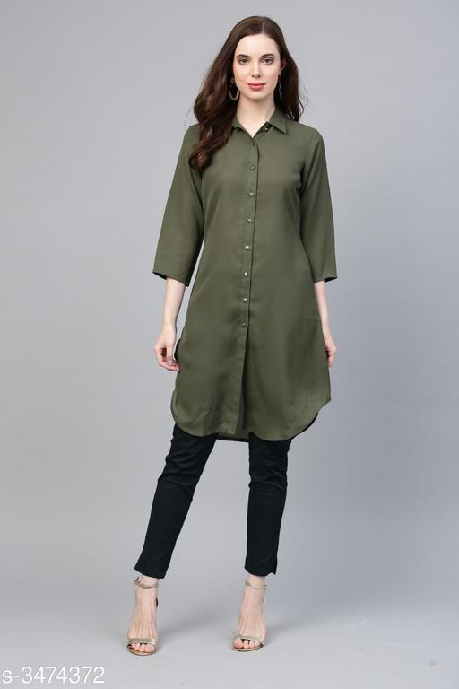 Jompers Women'sSummer Cool Shirt Kurta
