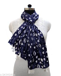Alluring Fashionable Women Scarves, Stoles & Gloves