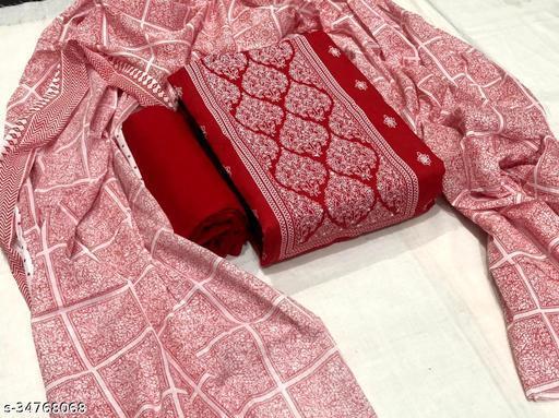 Vogue Fashion Soft Cotton Dress Material & Suit