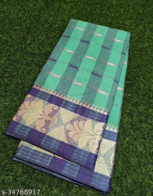 Cotton Tant Saree 100% Pure