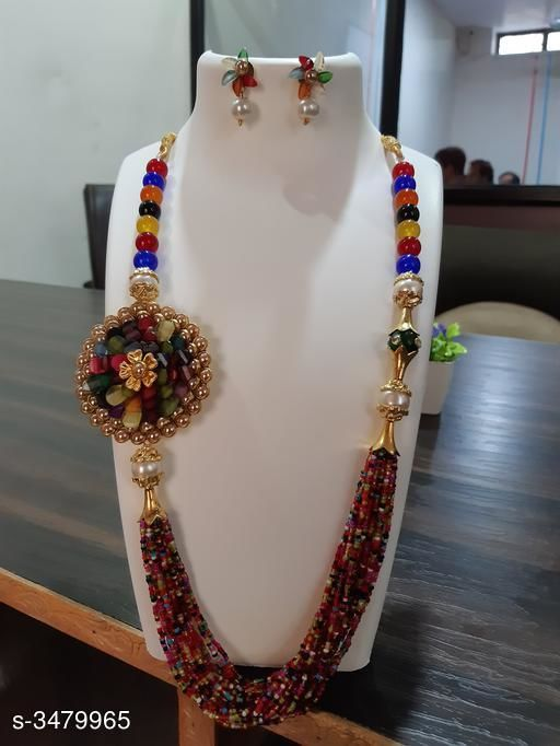 Glass Beads Necklace Set