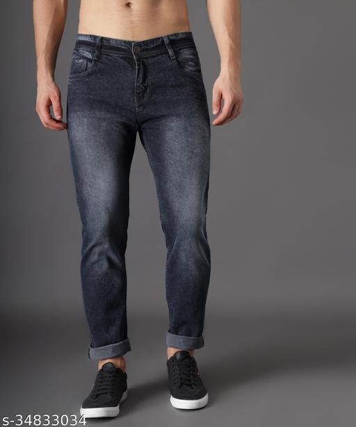 Zaysh Stylish Grey Wash Jeans
