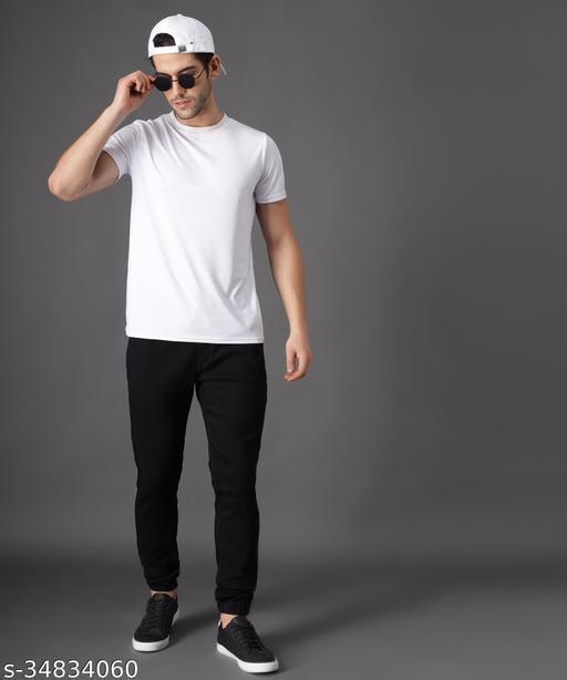 Zaysh Stylish Black Jogger Jeans