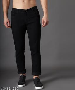 Zaysh Stylish Black Jeans