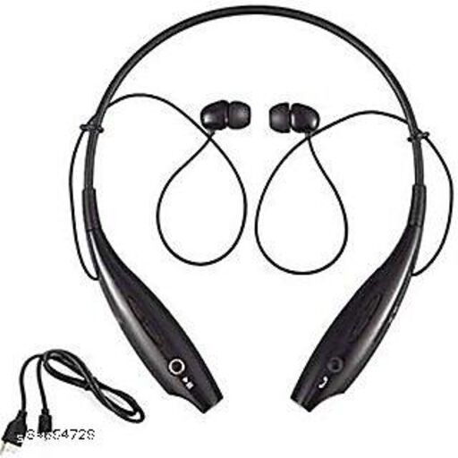 HBS 730 bluetooth wirelesss best earphone headset with mic for all mobiles