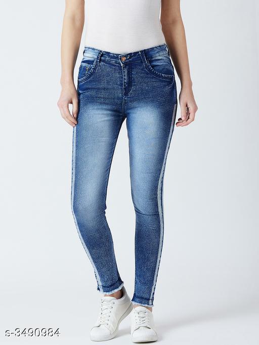 Cotton Lycra Women's Jean