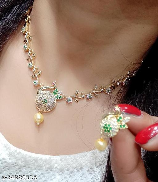 Allure Glittering Women Jewellery Sets
