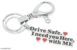 Drive Safe ( Couple Unique ) I Need You Here With Me Keychain For Valentinday , Birthday , Boyfriend , Girlfriend