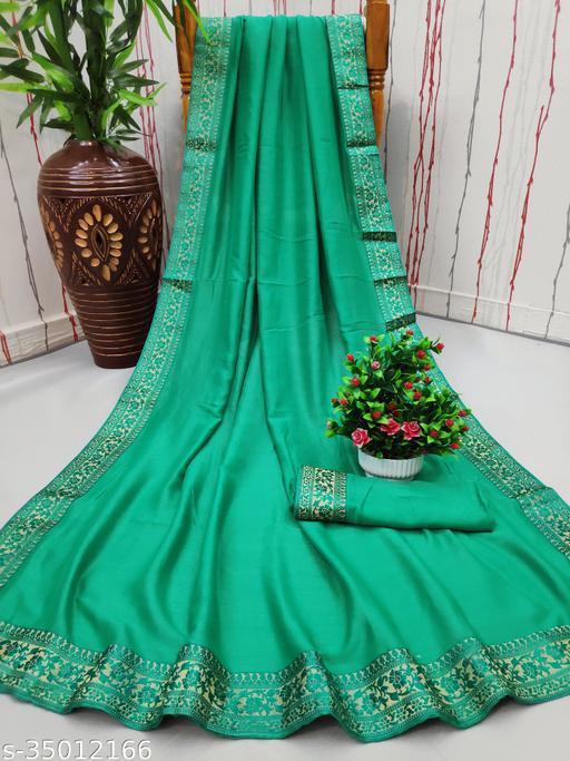 Beautiful soft vichitra silk saree