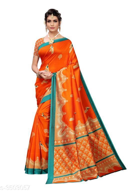 New Trendy Art Silk Sarees