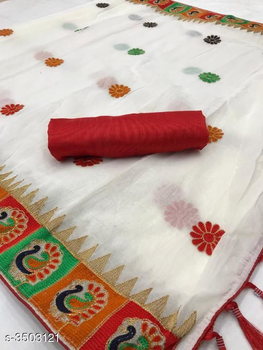 Beautiful Modal Cotton Saree For Women