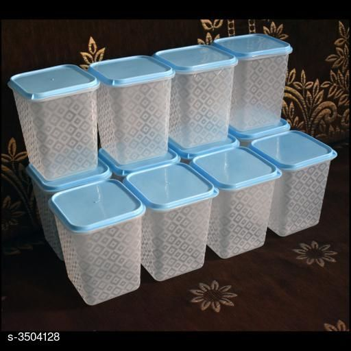 Useful Plastic Boxes (Pack Of 12)