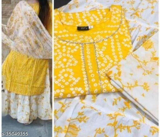 Women Rayon Printed Straight Kurta Bottom Dupatta Set