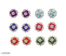 Priya Attractive Brass & Copper  Women's Earrings