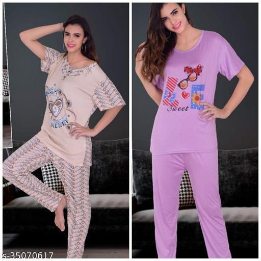 Trendy Women Fancy Nightsuit