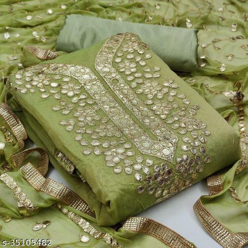 Alisha Refined Semi-Stitched Suits