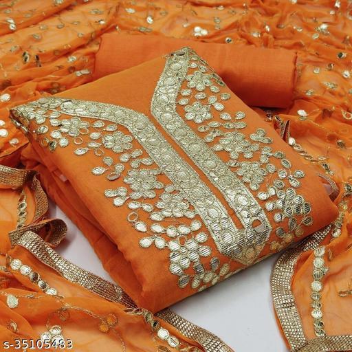Aakarsha Petite Semi-Stitched Suits