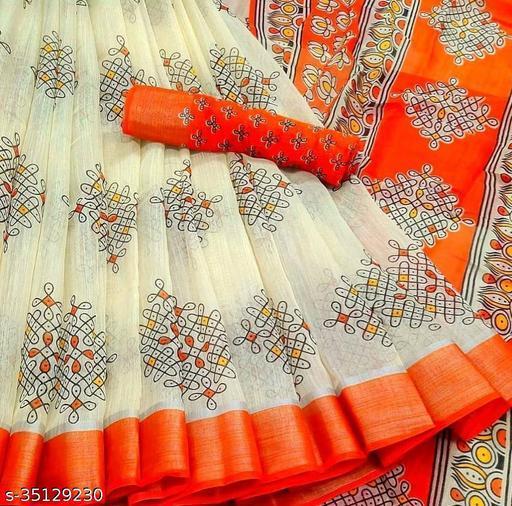 Fancy Stylish Cotton Silk Saree