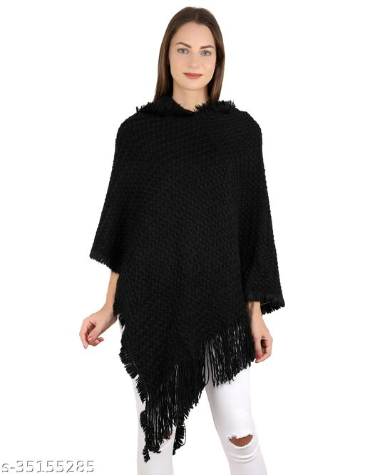Stylish Modern Women Capes, Shrugs & Ponchos