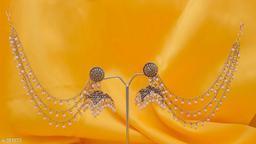 Trendy Pearl / Stone Earring