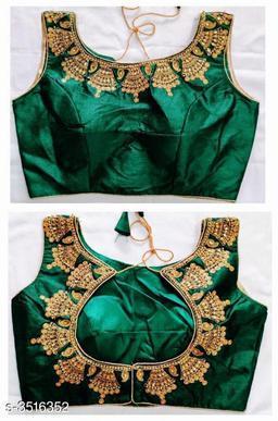 Elegant Trendy Silk Women's Blouses