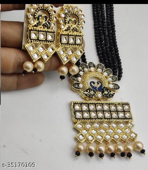 JKH Crystal Mala Jewellery Set