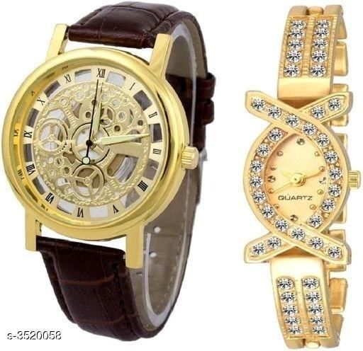Trendy Attractive Couple Watches