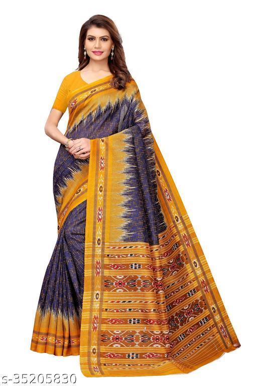 Mysore Art Silk Saree With Blouse Piece