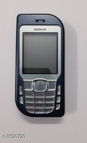 Feature Phones Nokia 6670 Blue  Mobile  *Product Type * Feature Phone  *Material * Polycarbonate  *Brand * Nokia  *Model * 6670  *Colour* Blue  *Screen Size * 2.1