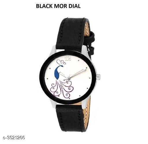 Trendy Women's Leather Watch