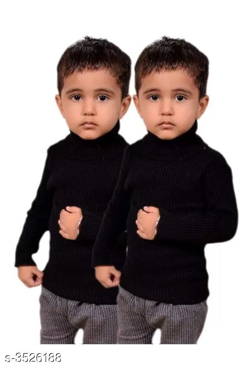 Adorable Wool Blend Kid's Boy's Sweaters