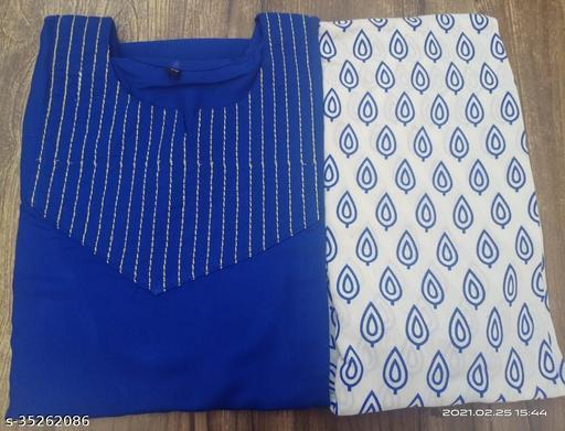 Aagam Fashionable Kurta set