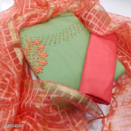 Alisha Attractive Cotton Suits & Dress Materials