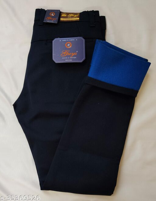 Double Cloth trouser (1)