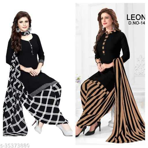 Priya Fashion Of Suits Material (pack of 2)