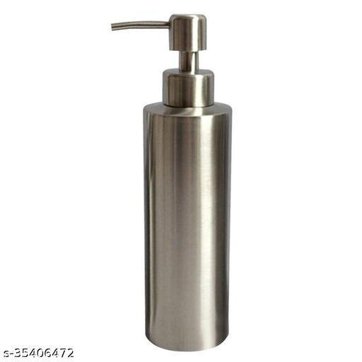 Unique-Simplicity, Stainless Steel Soap Liquid Dispenser Pump Hand Wash Bottle