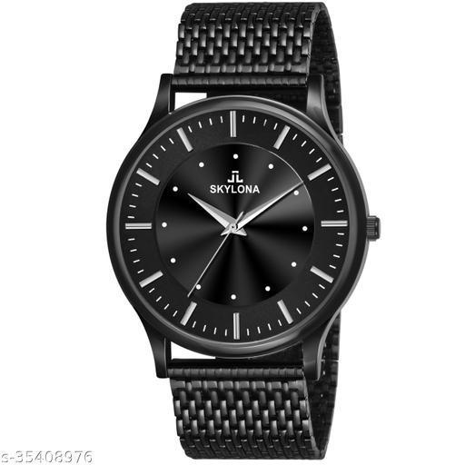 Skylona Branded New & Stylish Analog Watch For Men
