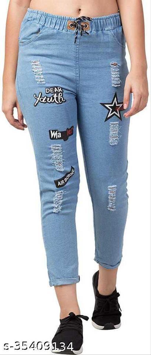 Fancy Latest Women Jeans