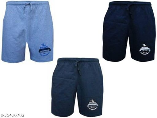 Mens Regular Shorts Pack of 3