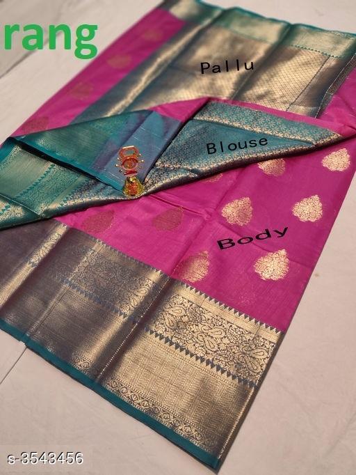 Trendy Banarasi Silk Women's Sarees